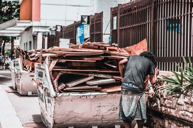 Afzetcontainer gebruiken als professional in de bouw