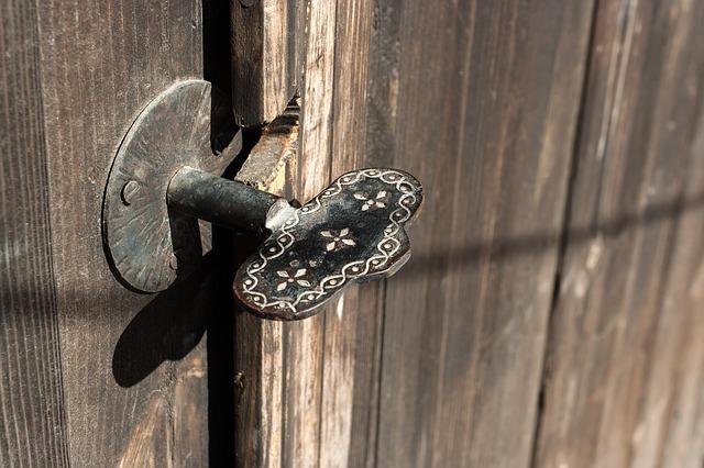 Verschillende soorten deurkrukken