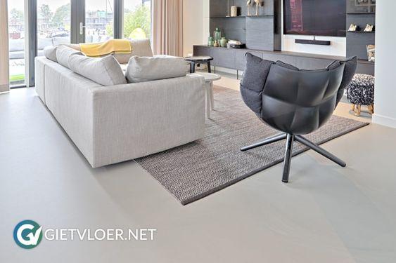Zoek je een geschikte vloer voor de woonkamer? Ontdek de voordelen van een gietvloer!